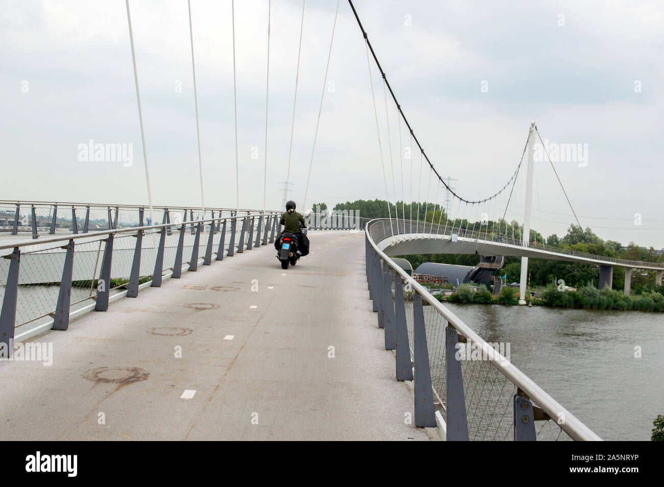 Nesciobrug Location Pont à Diemen aux Pays-Bas 2019 Banque D'Images