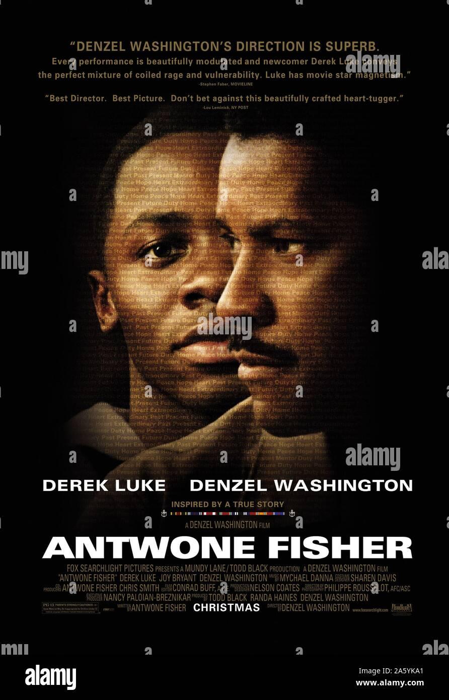 Rahim Année: 2002 USA Réalisateur: Denzel Washington, Derek Luke, Denzel Washington l'affiche (USA) Banque D'Images