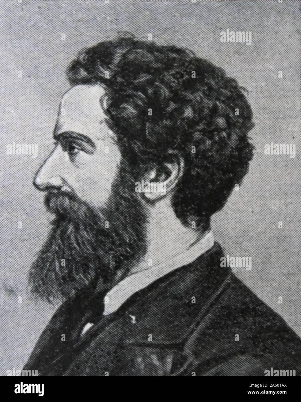 Edward Robert Lytton Bulwer-Lytton, 1er comte de Lytton. (8 novembre 1831 - 24 novembre 1891) Homme d'État et poète anglais. Il a servi comme vice-roi de l'Inde entre 1876 et 1880 Banque D'Images