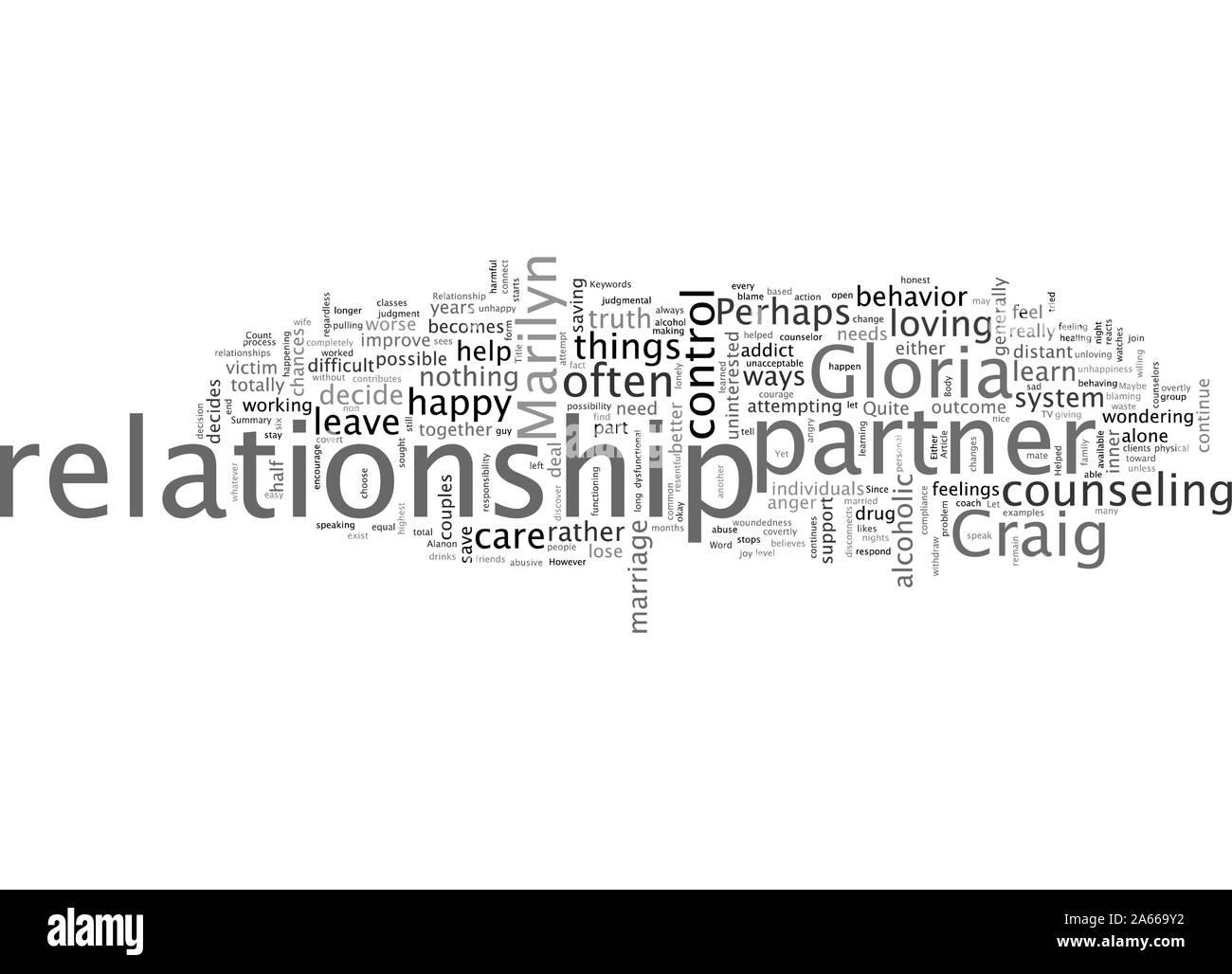 Cette relation peut être aidé Illustration de Vecteur