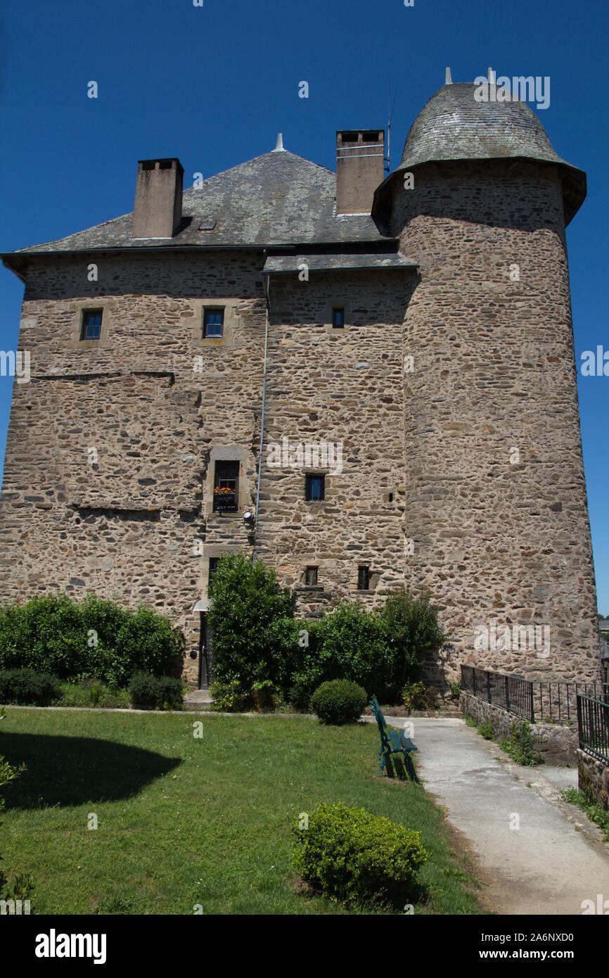 Joyau de Maubec, une demeure du 16ème siècle transformé en hôtel, Uzerche, Corrèze, France Banque D'Images