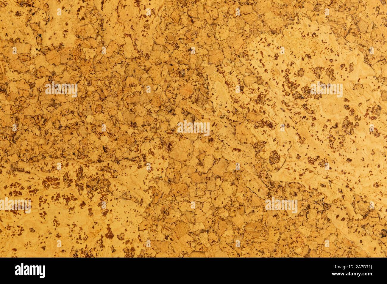 Close-up de son retard d'isolation en liège couleur carotte pour sols et murs Banque D'Images