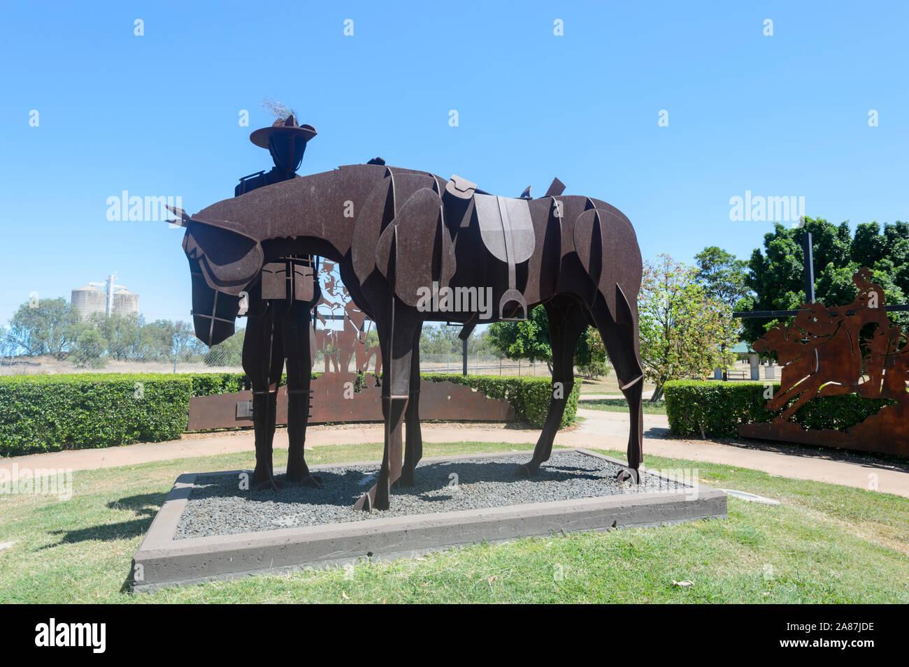 Étrier Fers avec Metal Sculpture Cheval équestre Riding Tack