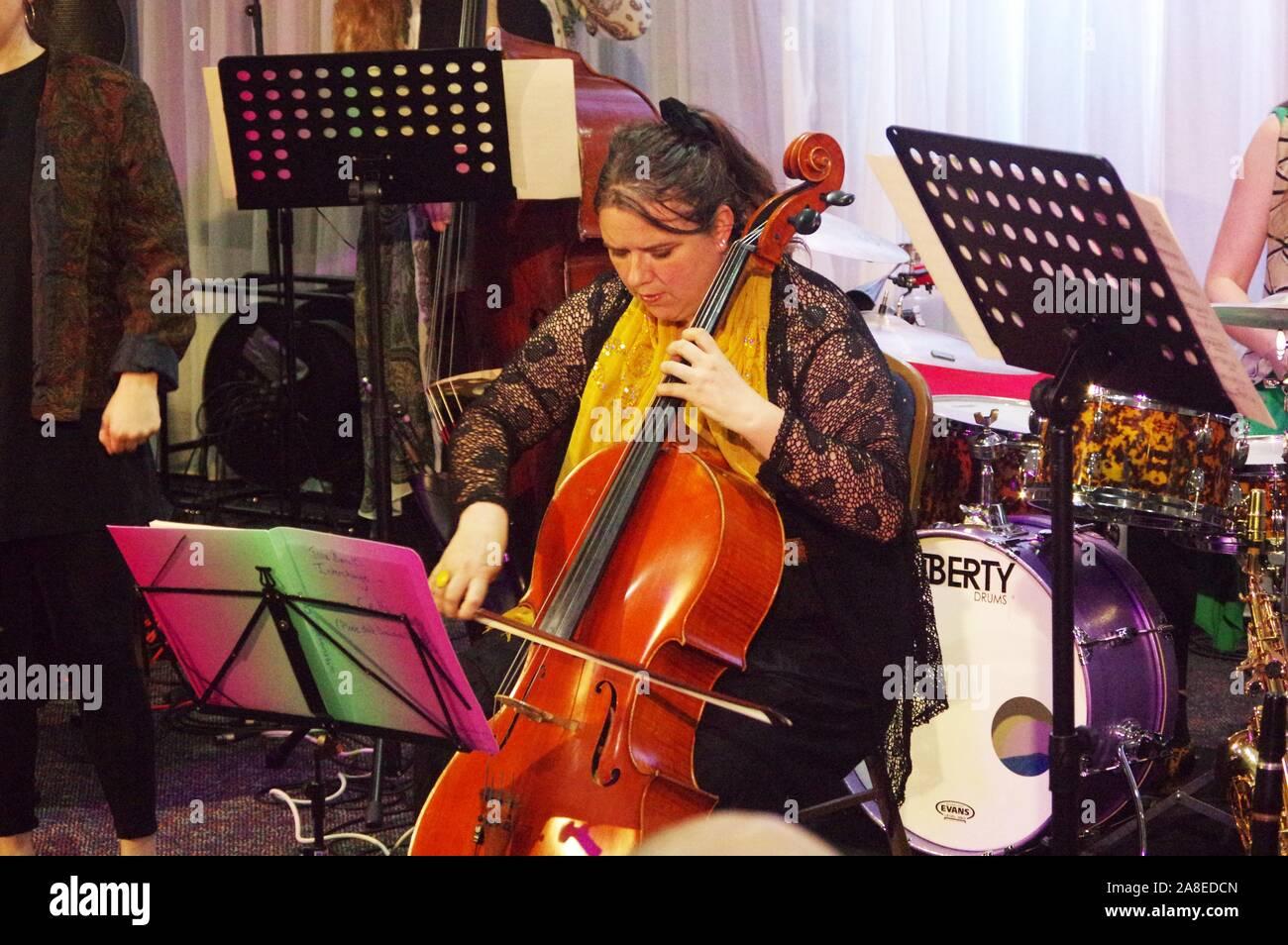 Shirley Smart, Issie Barratt's Interchange, 1 octobre 2019. Banque D'Images
