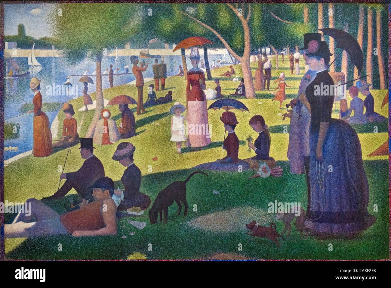 1884 Georges Seurat Banque D Image Et Photos Alamy