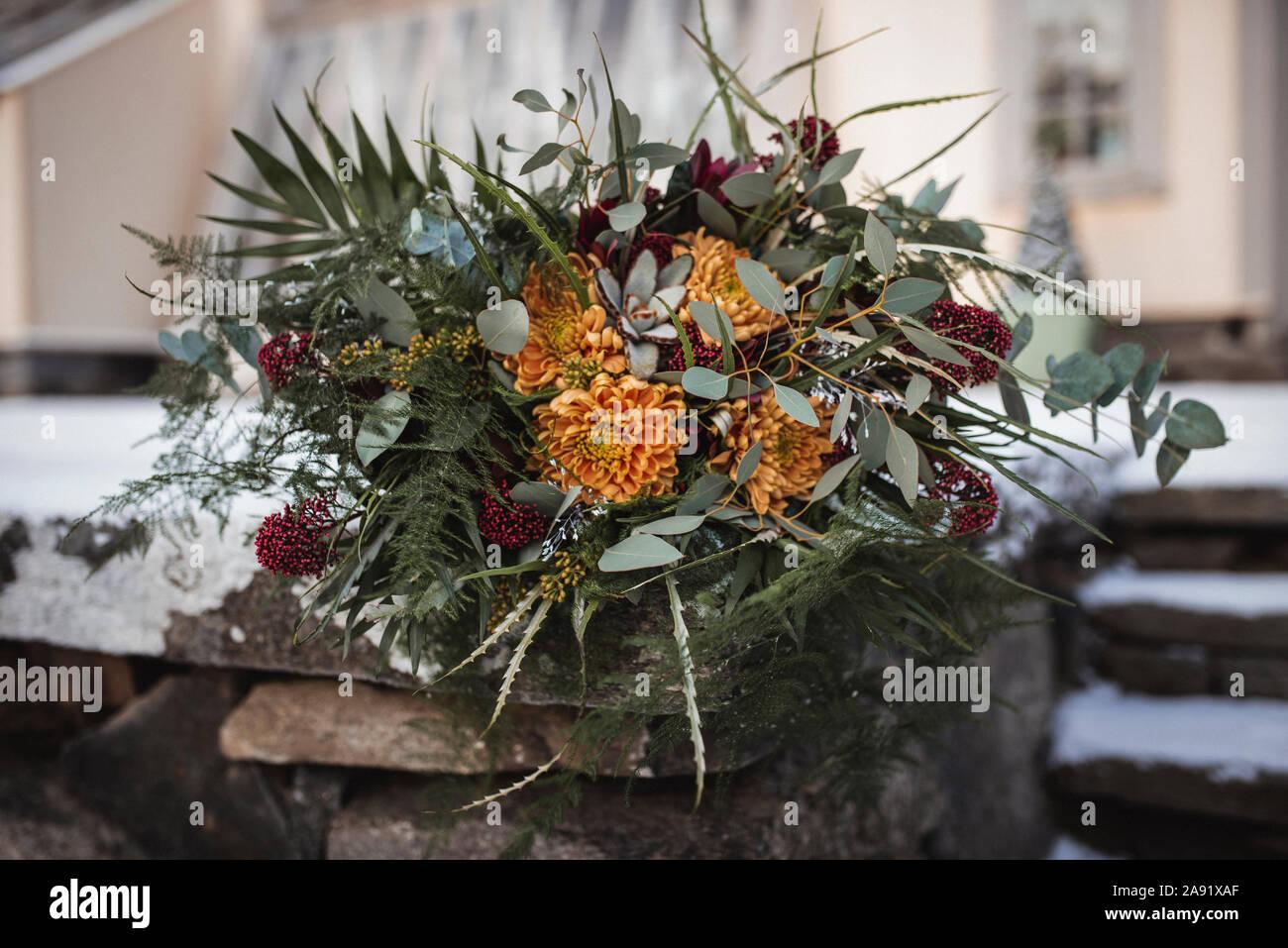 Bouquet de fleurs Banque D'Images