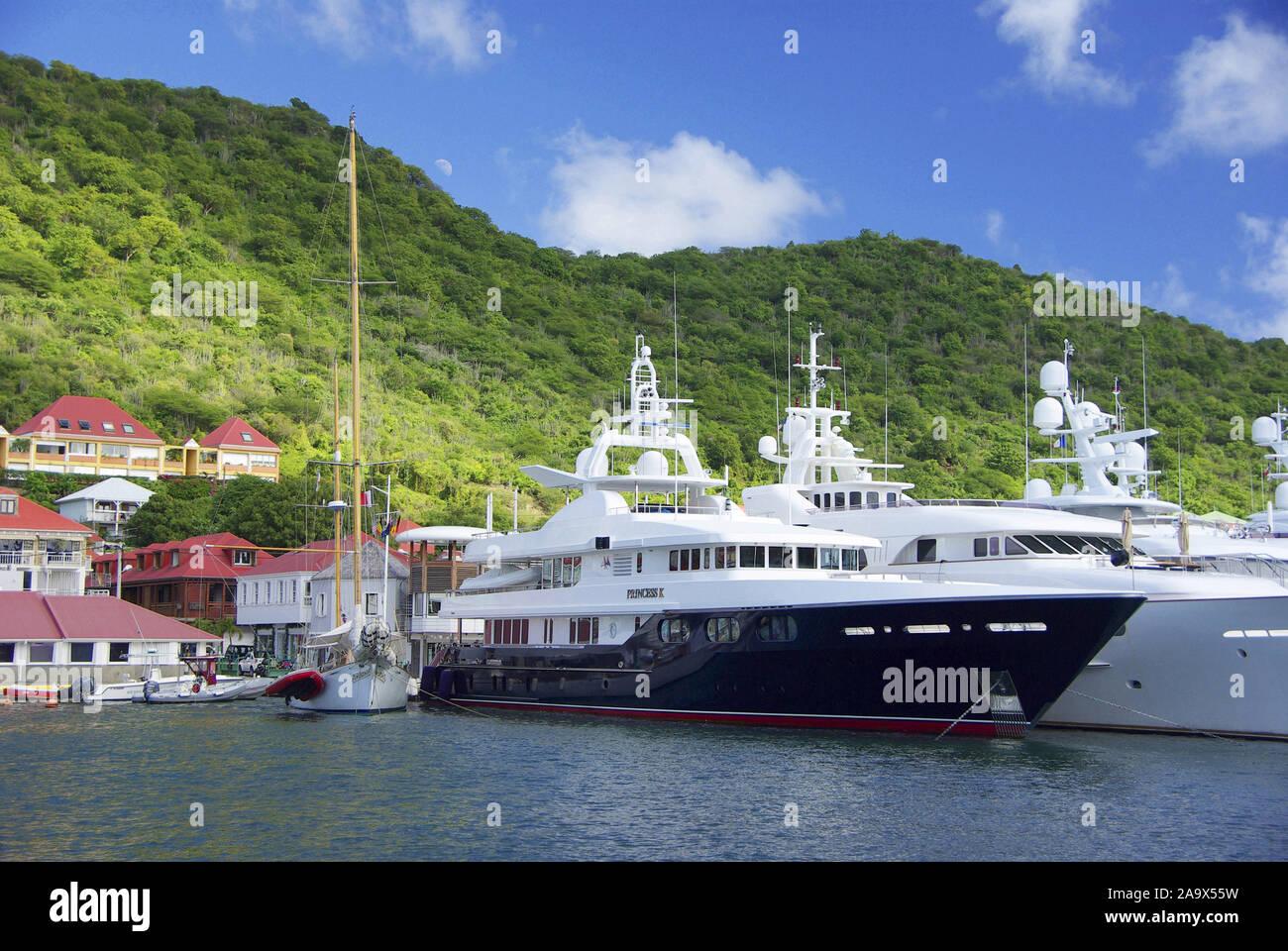 Franzoesiche Karibik Antillen;;; Saint Barthelemy Saint-barth Gustavia; Banque D'Images