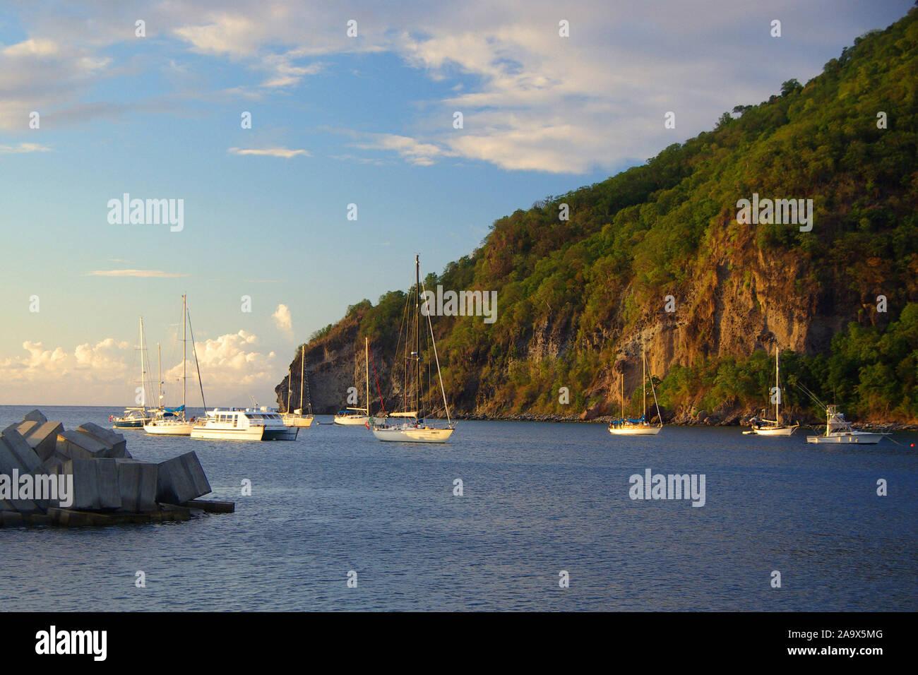 Franzoesiche Karibik; Antillen; Guadeloupe; Banque D'Images