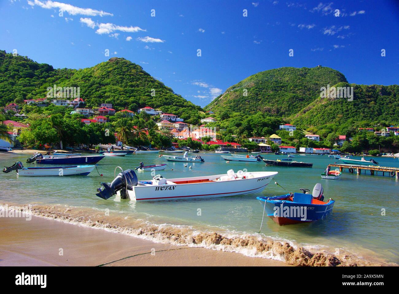 Franzoesiche Karibik; Antillen; Guadeloupe, Les Saintes Banque D'Images
