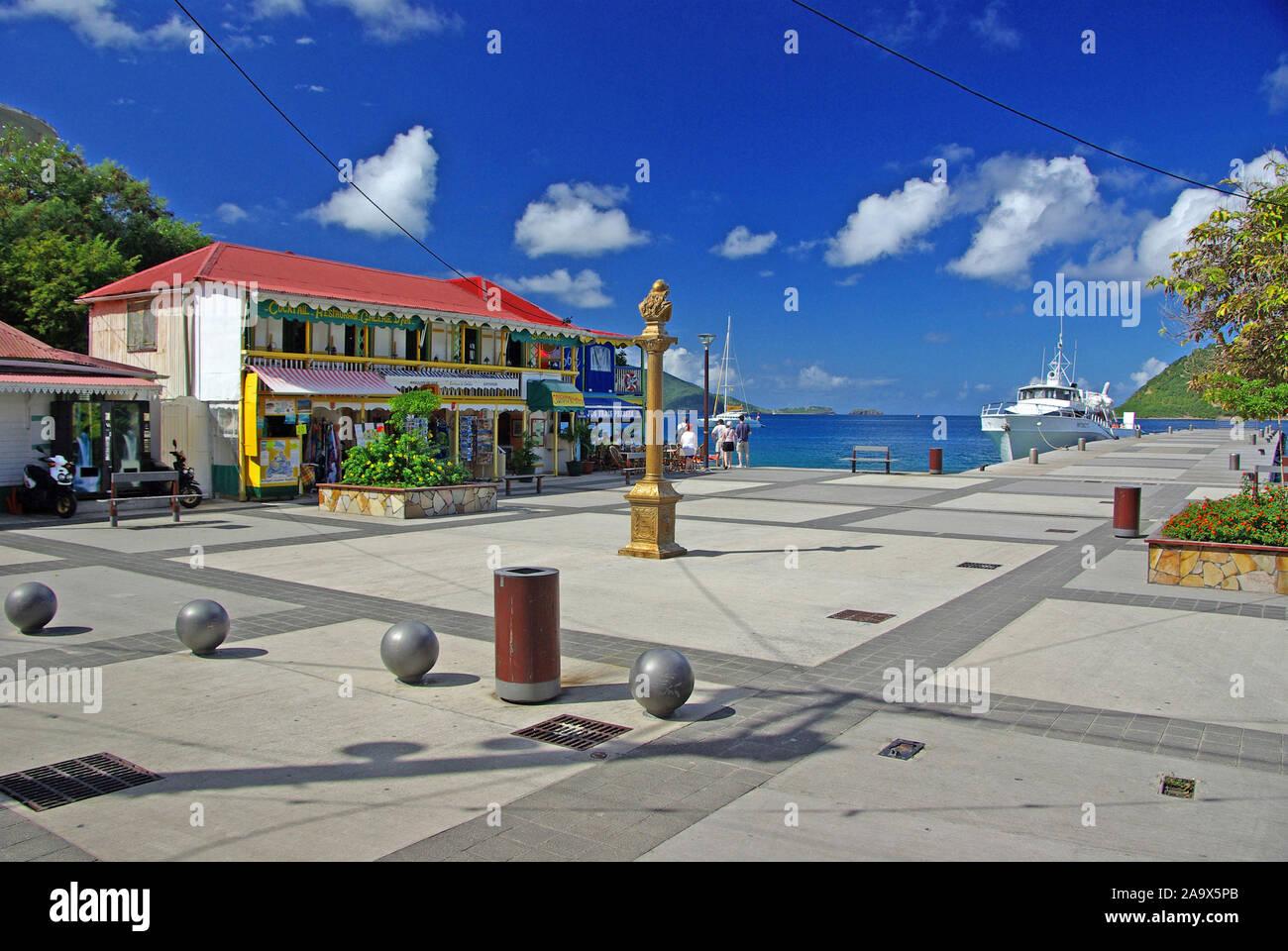 Franzoesiche Karibik; Antillen; Guadeloupe, Les Saintes, Terre de Haut Banque D'Images