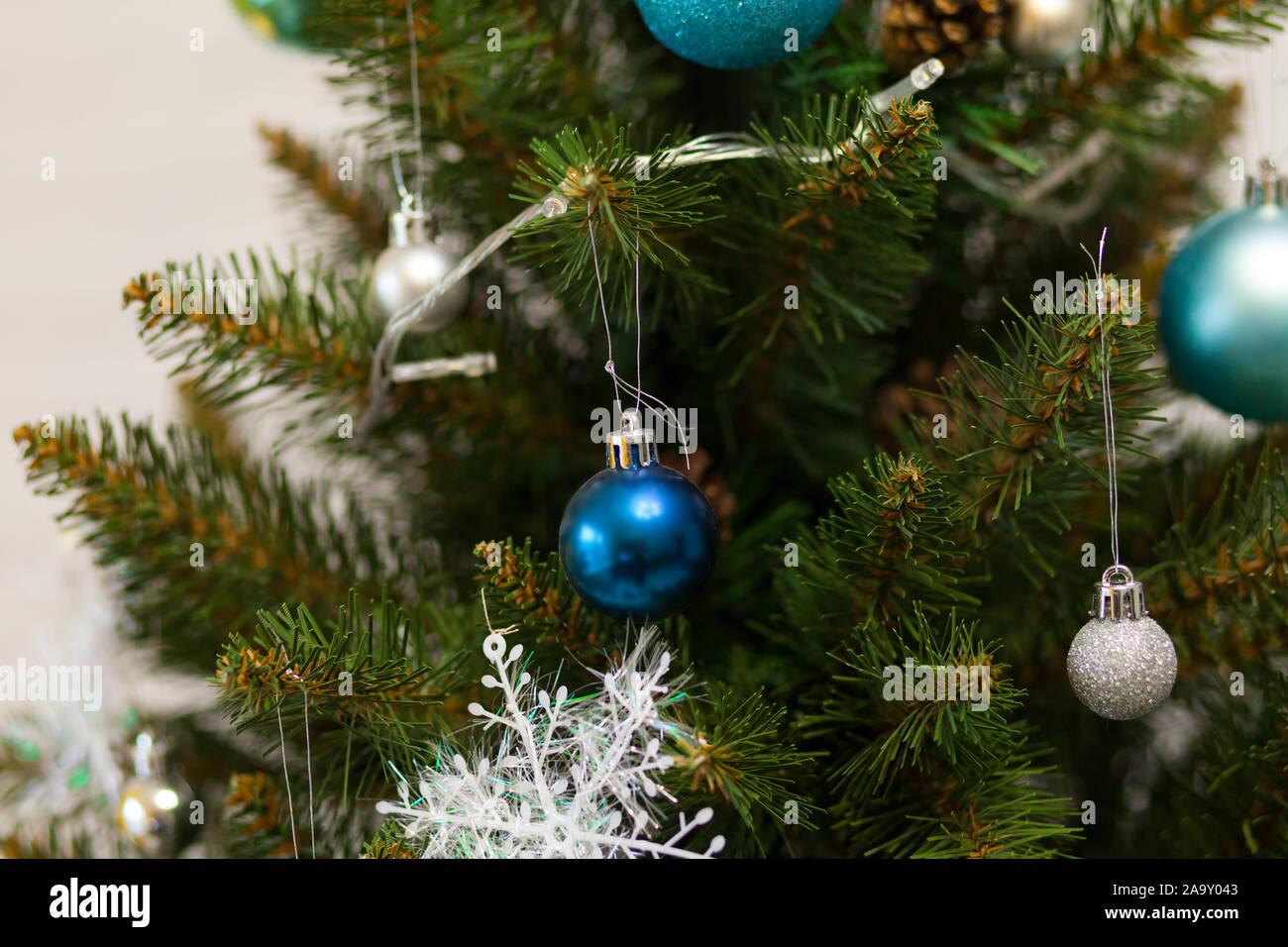 noir vert et blanc deux tons Guirlande D/écoration sapin de no/ël f/ête c/él/ébration artificiel Guirlande GROS