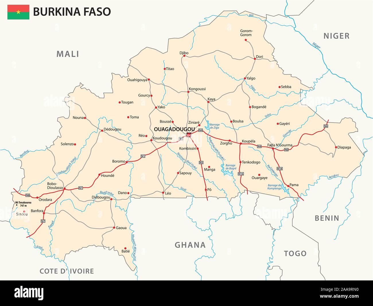 Carte Afrique Burkina Faso.Burkina Faso Carte Photos Burkina Faso Carte Images Alamy