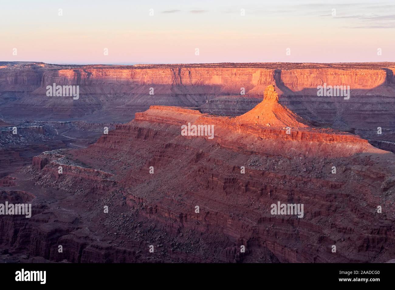 Dead Horse Point, Utah, USA Banque D'Images