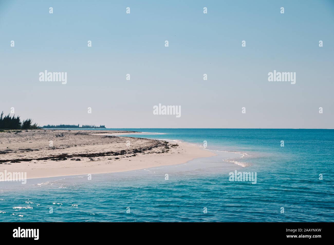 Côte de Cayo Largo à la mer des Caraïbes Banque D'Images