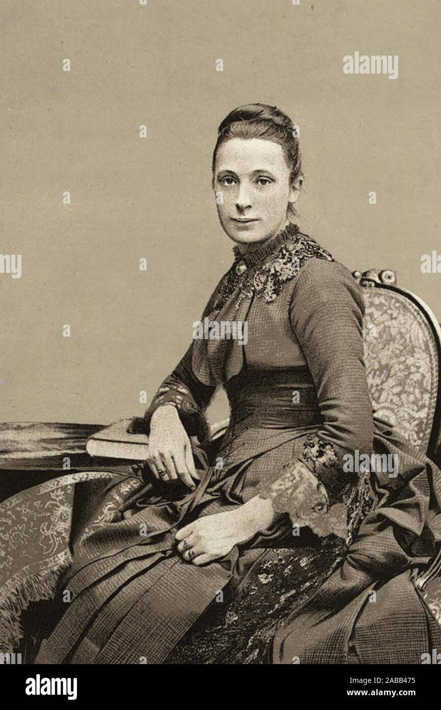ANNIE Swan (1859-1943) journaliste et romancier écossais Banque D'Images