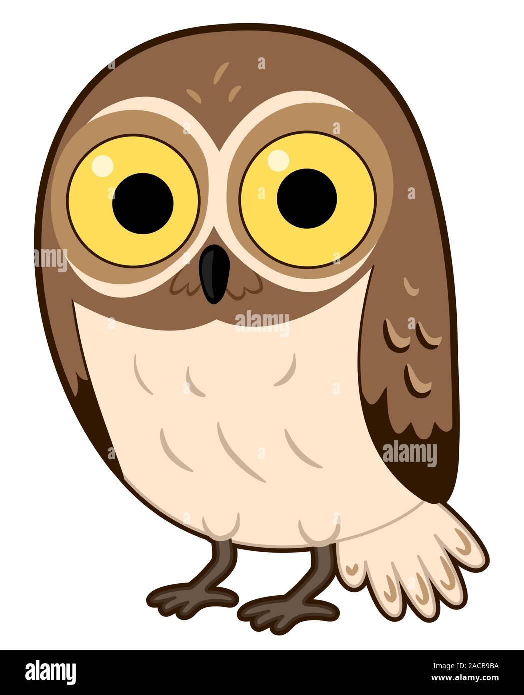 Owl Clip Art Banque D Image Et Photos Alamy