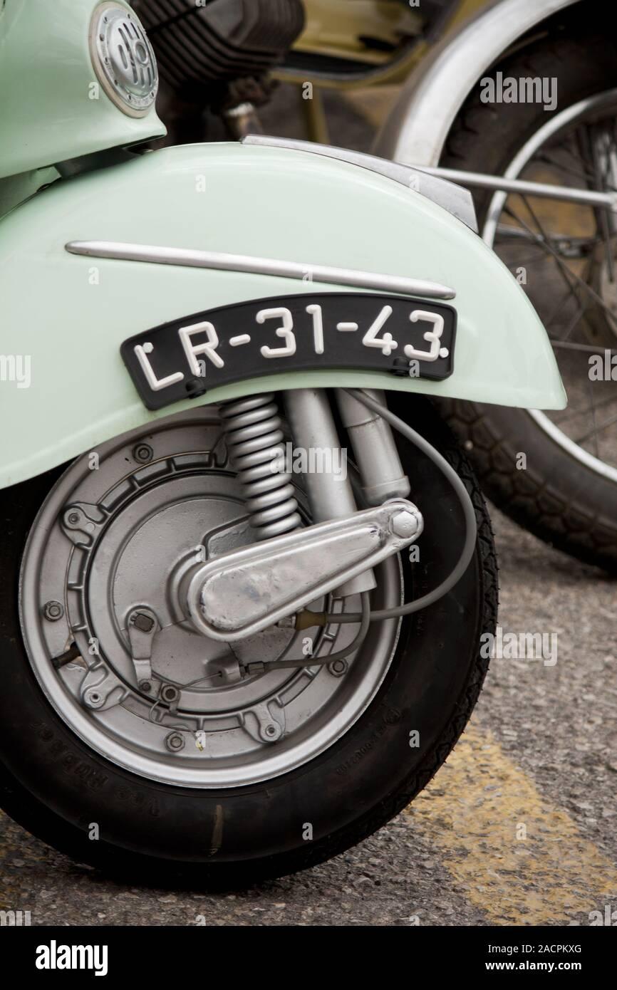 Moto classique Banque D'Images