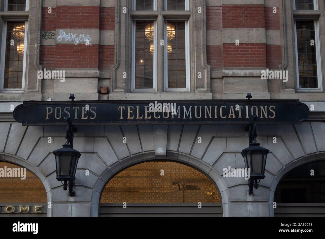 L'ancien bureau de poste - l'hôtel des postes - Lille, France Banque D'Images