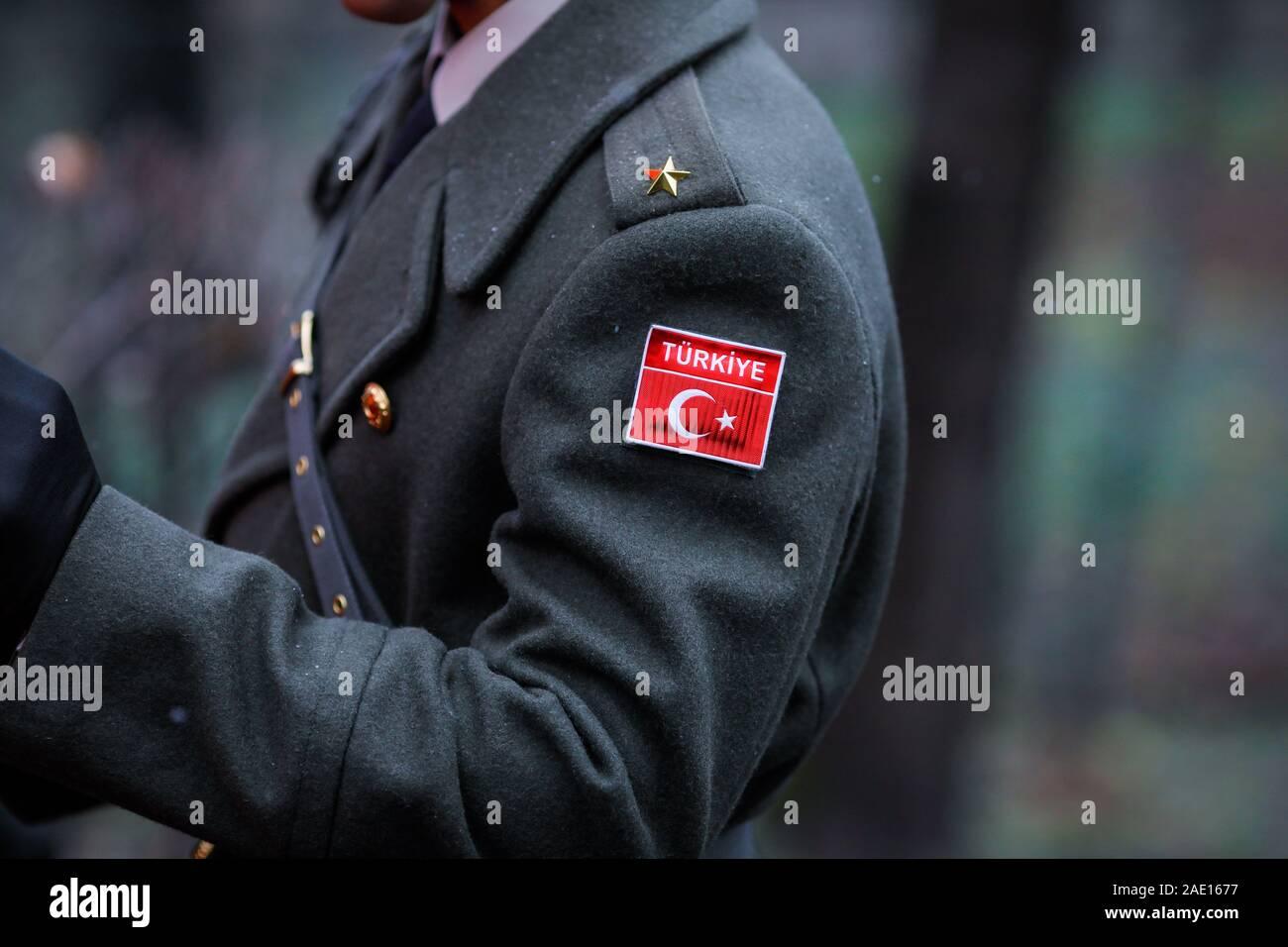 Garçons londres busby garde tenue enfants royal soldat uniforme costume robe fantaisie
