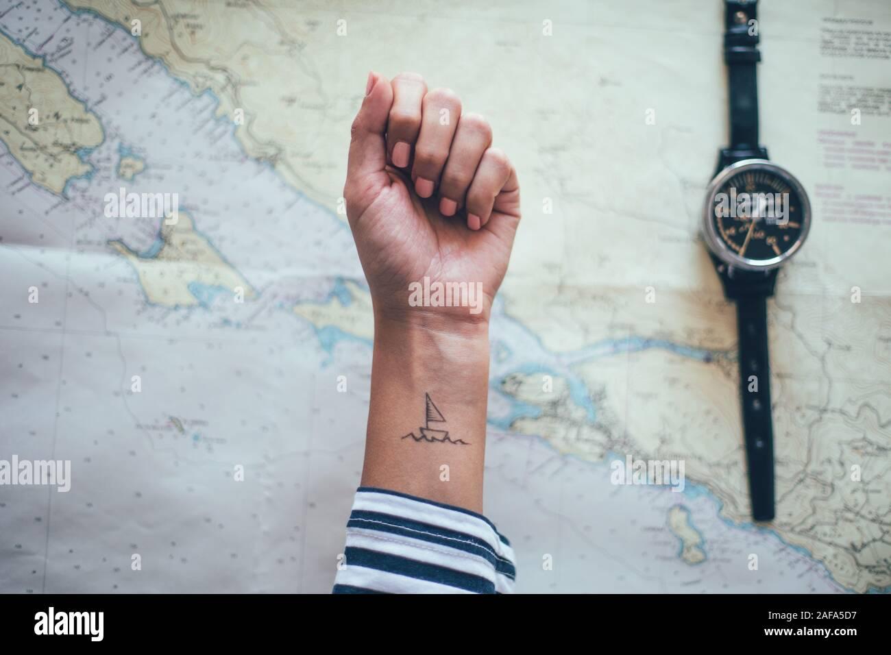 Sailor Tattoo Banque D Image Et Photos Alamy