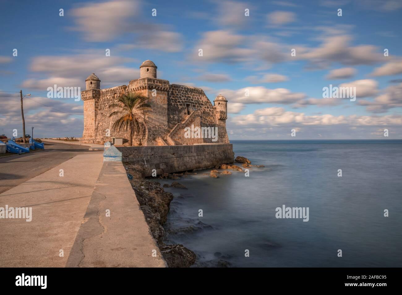 Cojimar, La Havane, Cuba, Amérique du Nord Banque D'Images
