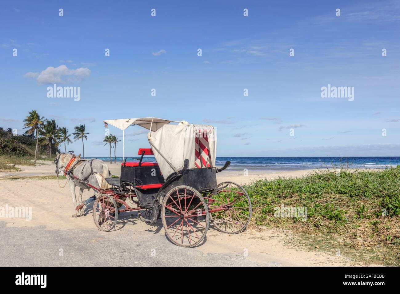 Playa Boca Ciega, Playas del Este, La Havane, Cuba, Amérique du Nord Banque D'Images