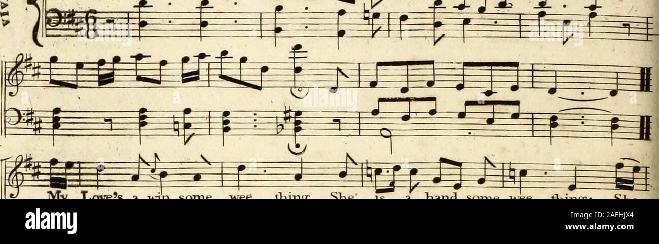 . [Une musique composite volume contenant les différents numéros d'Thomson octavo] collection des chansons de Burns, Sir Walter Scott ...: unis pour le sélectionner d'Écosse, et de mélodies d'Irlande et du Pays de Galles. ^^^=& Fe K? 000 ^ ^ ^JT % br II- fflEV »^ D. C.alFine. prayd à tous . Les pouvoirs di_vigne, de faire aucune mine KA doux. Puis les 5 elements 1 oHinir Symphonie. m m P- mm^^m fefe iy&gt; f lr* ¥* f^_ir ir rT Pji-T-H---^^ 1 r y, je r&gt;&gt;;ji bof. -&Gt;*- a m m % vol: 6. 44. AOVJSS ^* MV WINSOME HEi; 7&7JVG. - TiAYj>jv. r/ir Sym?t7ir^ceon//&gt;,X- //&gt;/• S-ena nouveau fersi zmb/-7S24. « JfHiyL? J'JAljiLn Banque D'Images