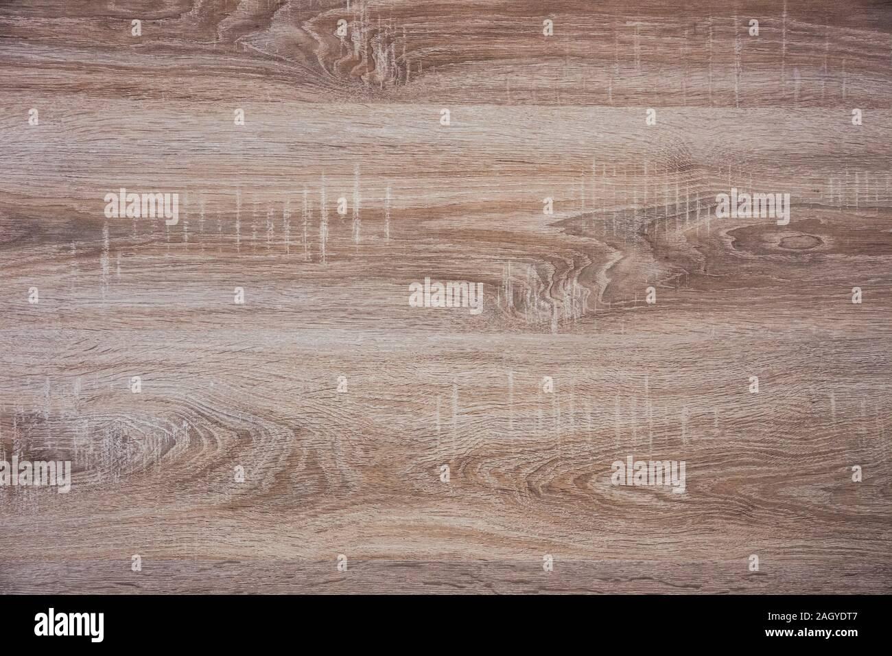 Plancher en bois Vintage détail arrière-plan avec effet filtré. L'orientation horizontale, noeuds dans le bois. Banque D'Images