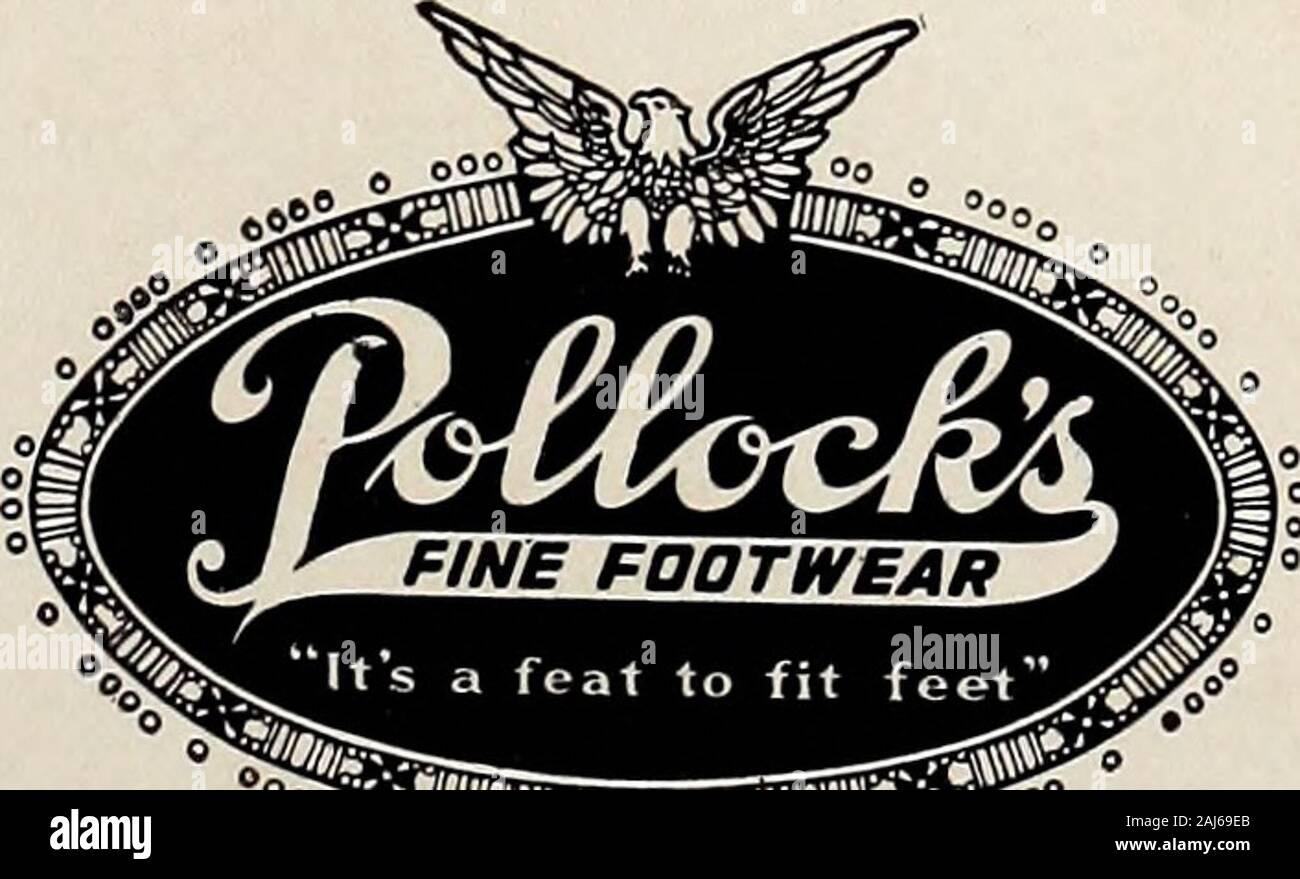 Le bleu et blanc [Série] . Les étudiants et les fournisseurs de service de fashions pour plus thanfourteen ans; monter à l'échelle de la réussite d'anhumble shop pour le meilleur service de home dans le sud; une telle est la notice de Pollocks. C'est brièvement ici en tant que guide-toassure vous ce magasin est équipé, dans tous les sens, à fournir des exigences. yourFootwear HANAN & SONS chaussures fines POLLOCKS Chaussures sur mesure DEMI-SOIE BAS PATTONAVENUE GOLF FLEXIBLE 39. 39 PATTONAVENUE TOGGERY TYPE COLLÈGE Banque D'Images