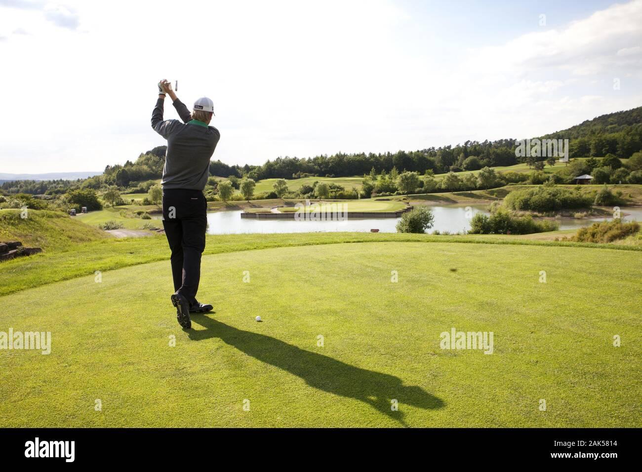 Hardenberg: Golfplatz, Suède | conditions dans le monde entier Banque D'Images
