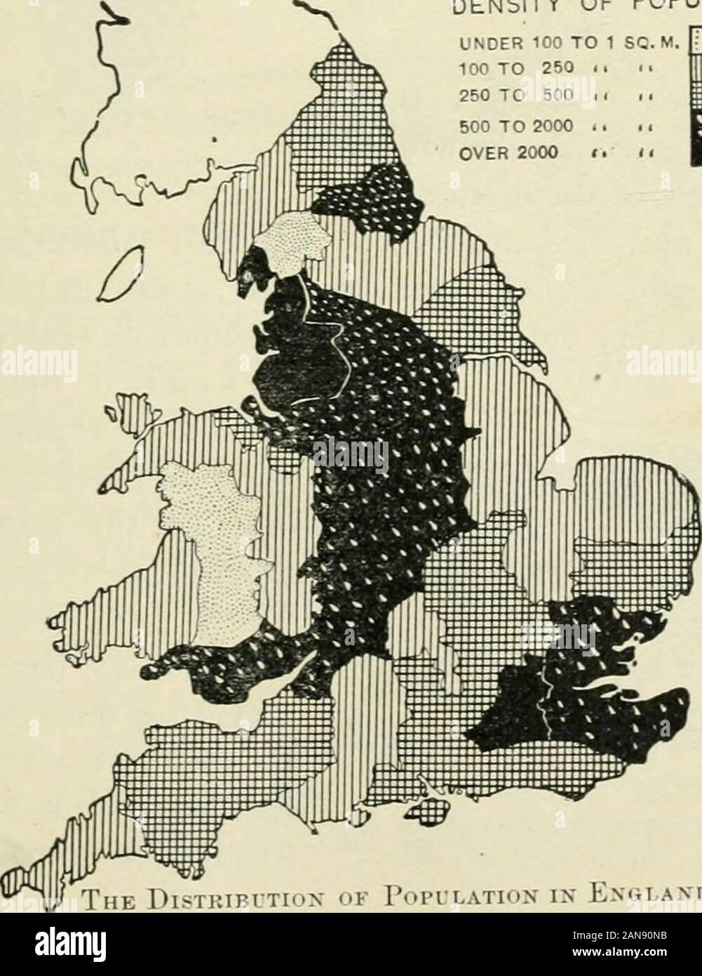 La nation britannique une histoire / par George MWrong . 1901 DENSITÉ DE POPULATION DE MOINS DE 1 100 mètres carrés à 250 J100&155;250 à 500 .500 JE À 2000 ..plus de 200011. sLTiox Exglaxd befoke dans la population OK ET APRÈS L'ÉLABORATION D'MaNCFACTUKING L'industrie. Le BlilTISU NATION, semblable aux Esquimaux type ui du Groenland,le jeu de leur temps inclus le renne et le themoose-ox, l'éléphant, l'ele-mam-papillon, et le lion.Ces x>à livedand « avait d'abord des questions de Wit: ofrace ThePalseolithio <li[^ la culture. ^y m des grottes, s'utiliser qu'un tel outil comme les clubs et les pierres qui Banque D'Images