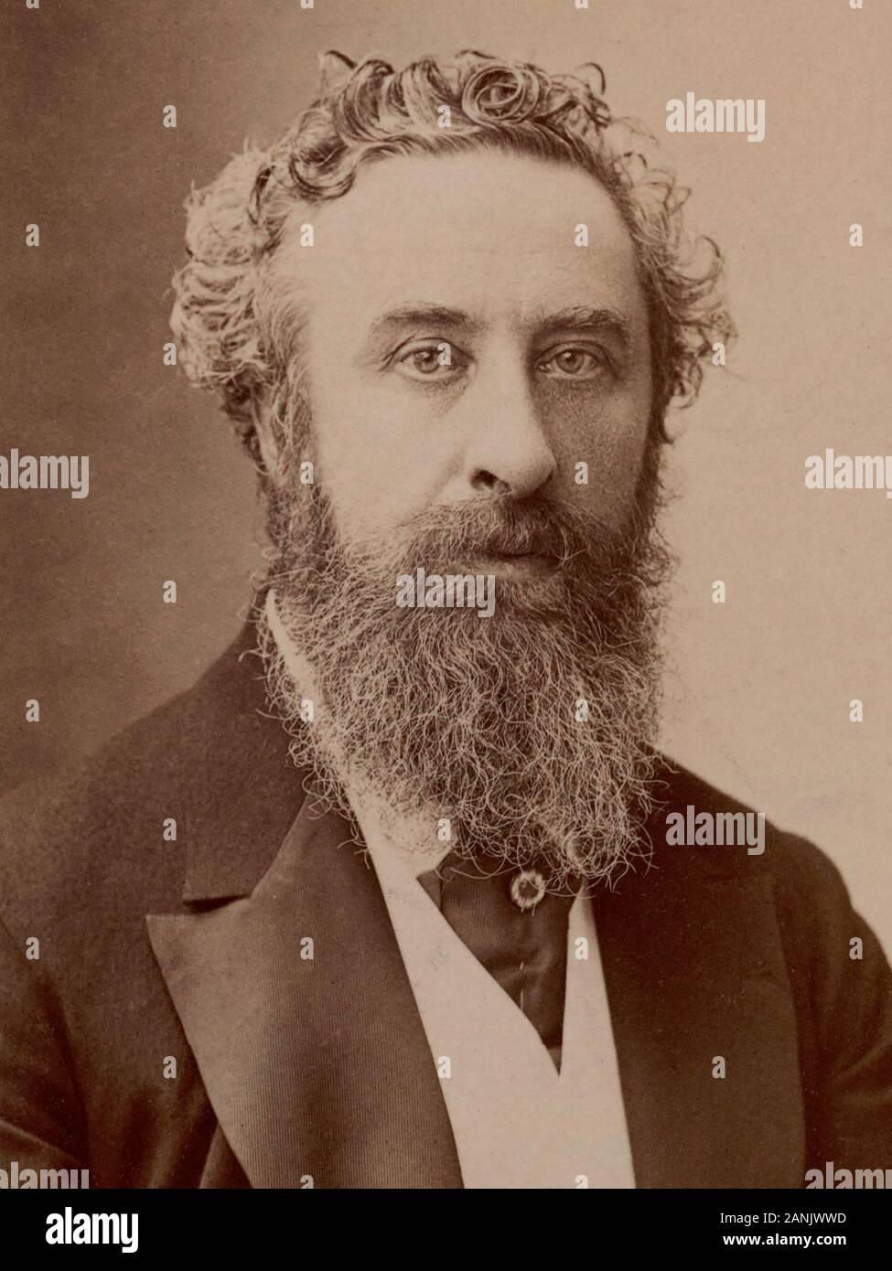 ROBERT BULWER-LYTTON (1831-1891) Homme d'État conservateur anglais Banque D'Images