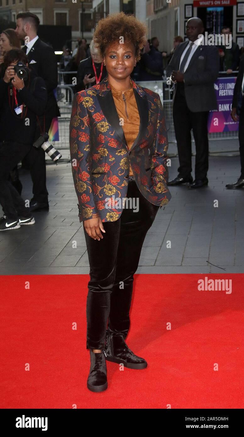 """05 Oct 2017 - Londres, Angleterre, Royaume-Uni - 61ème Festival Du Film De Londres Bfi - Première Européenne """"Vers"""", Odeon Leicester Square - Red Carpet Arrives Photo Banque D'Images"""