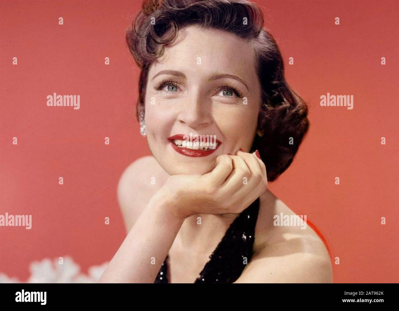 Betty WHITE American film actrice et comédienne vers 1955 Banque D'Images