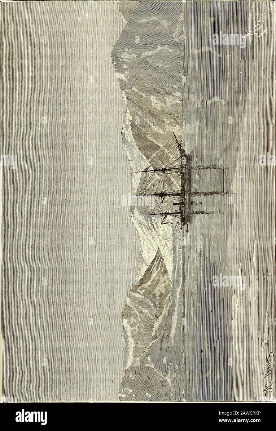 Nouvelle-géographie universitaire : la terre et les hommes . ©o-gues. Au nord-ouest de la Péninsle de TaïMîr, le navigateur norvégienJohannsen dà coucrit en 1878 une île à laquelle il donna le nom bien justifiédEnsomheden ou Â« Solitude ». Cette terre isolée au milieu des banquesprofessionnelles un espace de 200 kmètes Carrés et se termine Élocident par dehautes faléises que domine une cime de 157 Mètres : Sur la rive basse delest, des troncs darbre apportés par les courants recouvent les sables.Peut-être cette île avait-elle é déJà vue par -Laptev en 1741 les Bouriates sont Banque D'Images