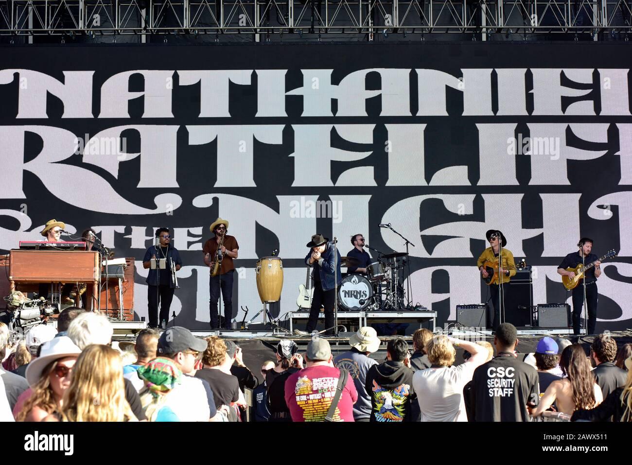 Nathaniel Rateliff sur scène à BottleRock 2019 Banque D'Images