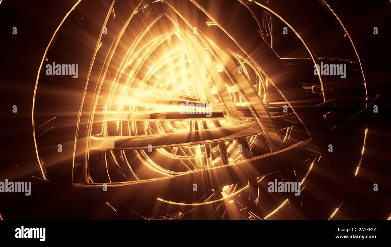 Illustration Tridimensionnelle Fond D Ecran De L Illustration Graphique D Artefact Extraterrestre Brillant Photo Stock Alamy