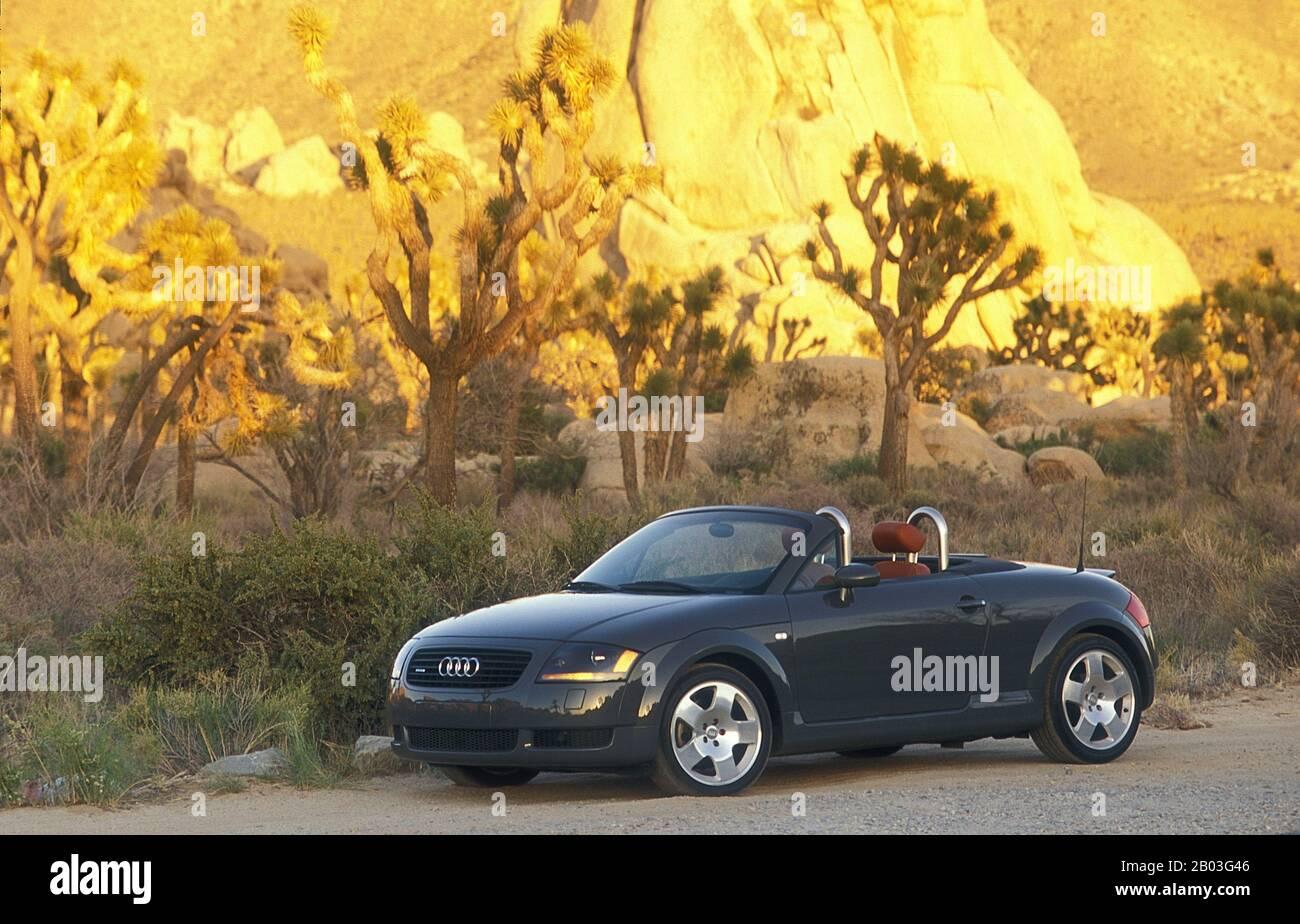 1999 Audi TT lors d'un voyage routier en Californie du Sud États-Unis Banque D'Images