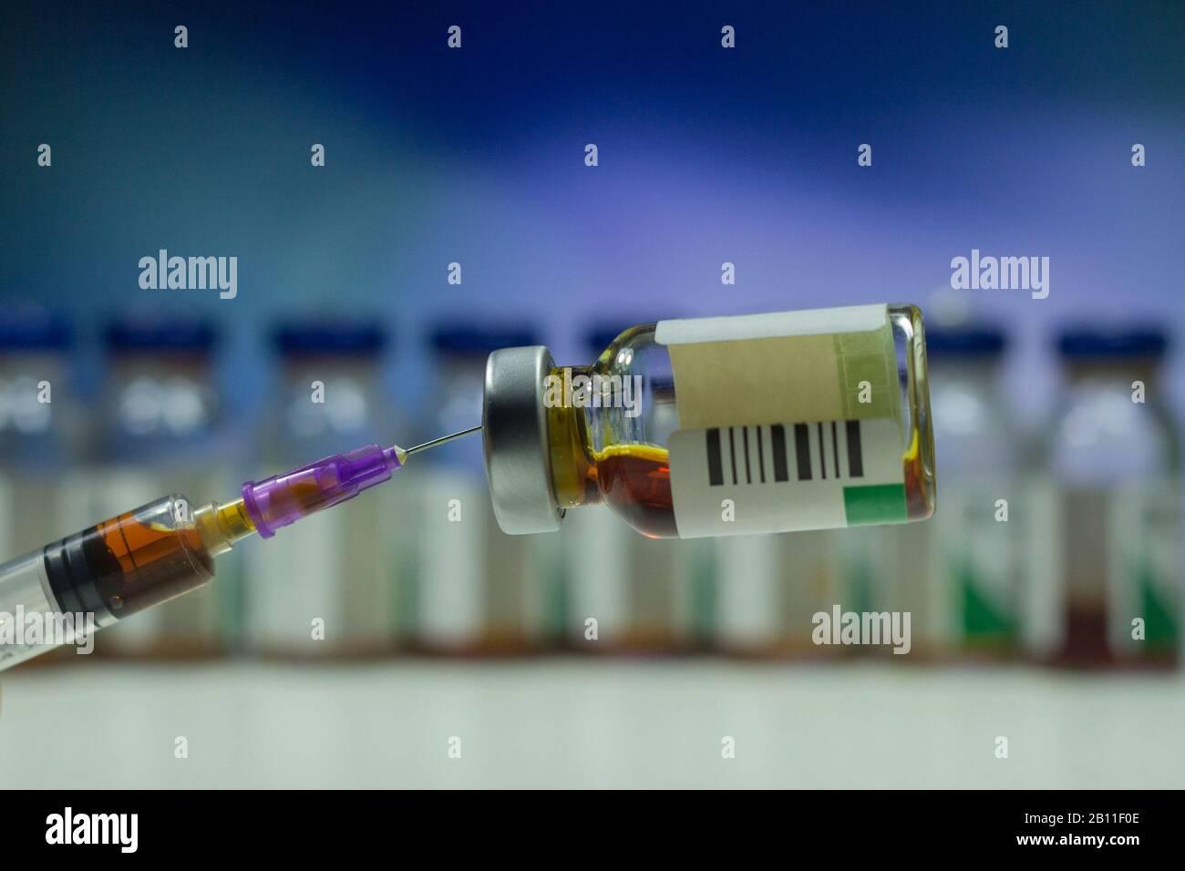 Insulin Bottle Banque d'image et photos   Page 40   Alamy