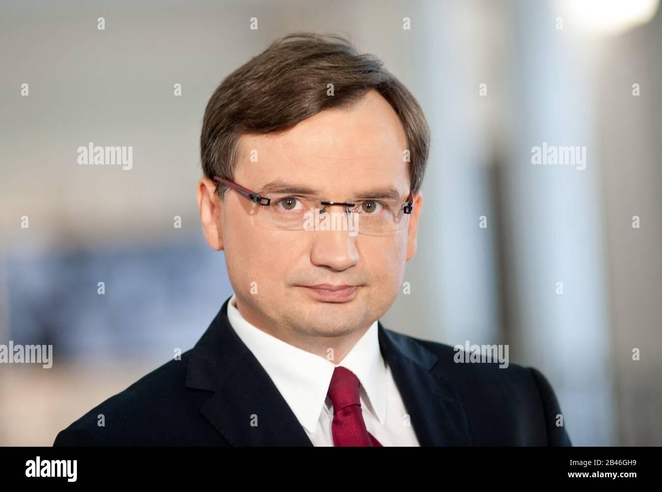 25. 07. 2013 Warszawa, Dzień W Sejmie Rzeczypospolitej Polskiej. N/z Zbigniew Ziobro Banque D'Images