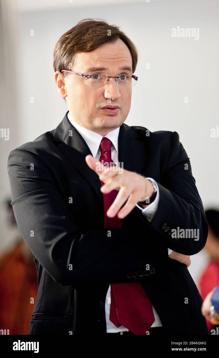 25. 07. 2013 Warszawa, Dzieñ W Sejmie Rzeczypospolitej Polskiej. N/z Zbigniew Ziobro Banque D'Images