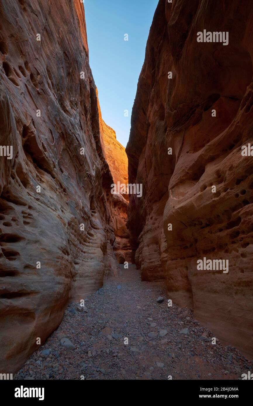 États-Unis, États-Unis D'Amérique, Nevada, Valley Of Fire, White Domes Trail, National Park, Sierra Nevada, Californie Banque D'Images