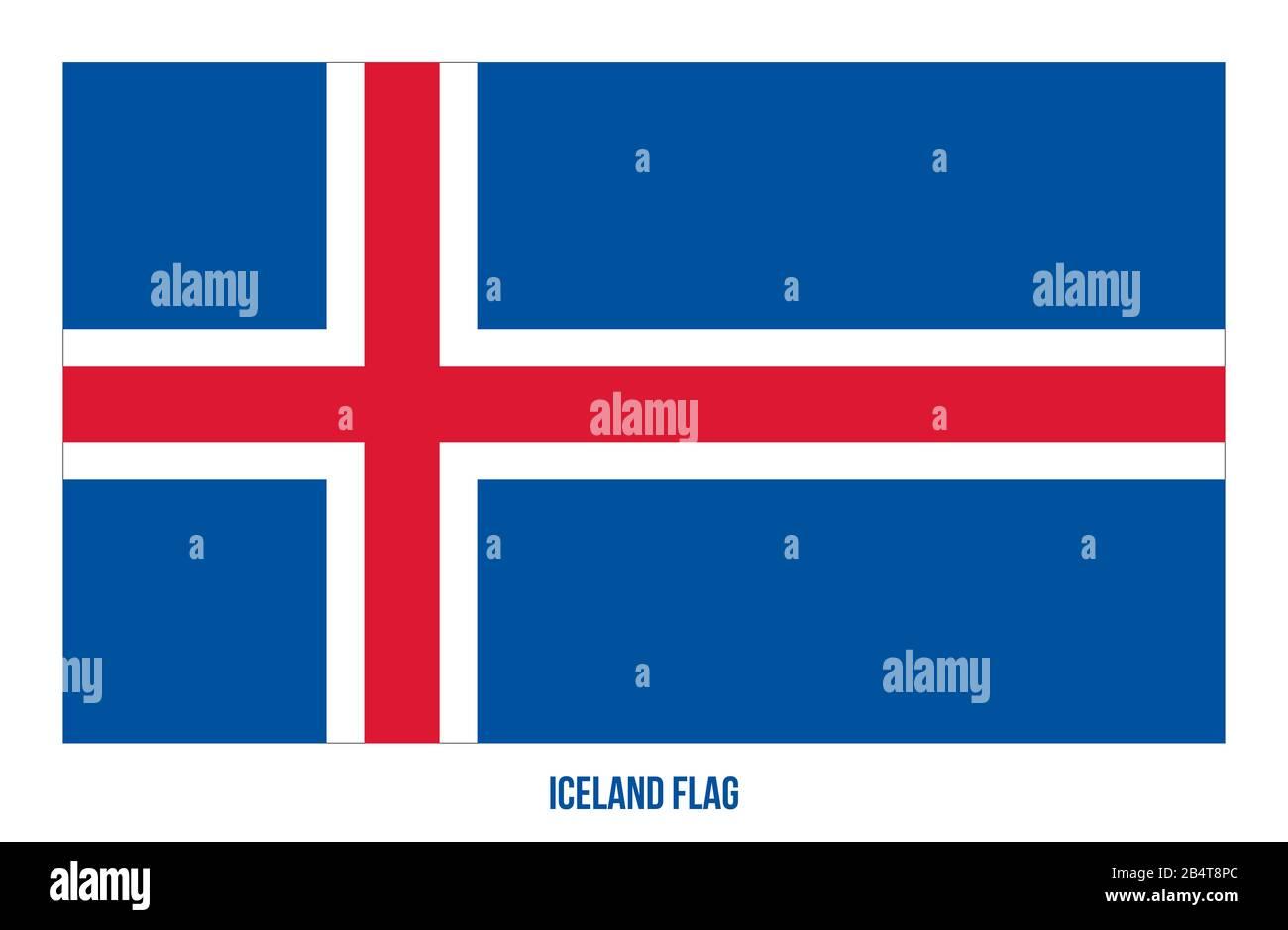 Aimant de r/éfrig/érateur Carte de lIslande avec drapeau