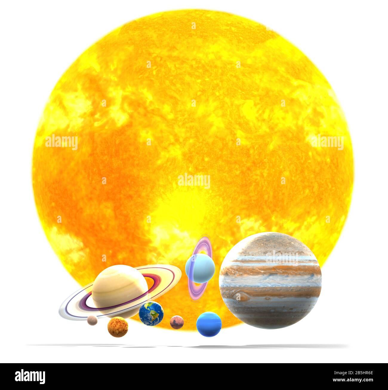Mercury On Galaxy Solar Planets Banque D Image Et Photos Alamy