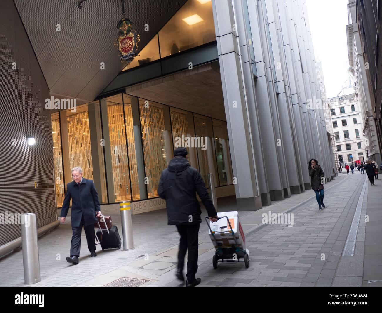 Bureaux de Rothschild & Co le groupe mondial et contrôlé par la famille. Il fournit des conseils en matière de fusions ET ACQUISITIONS, de stratégie et de financement, de gestion des investissements et de la richesse Banque D'Images