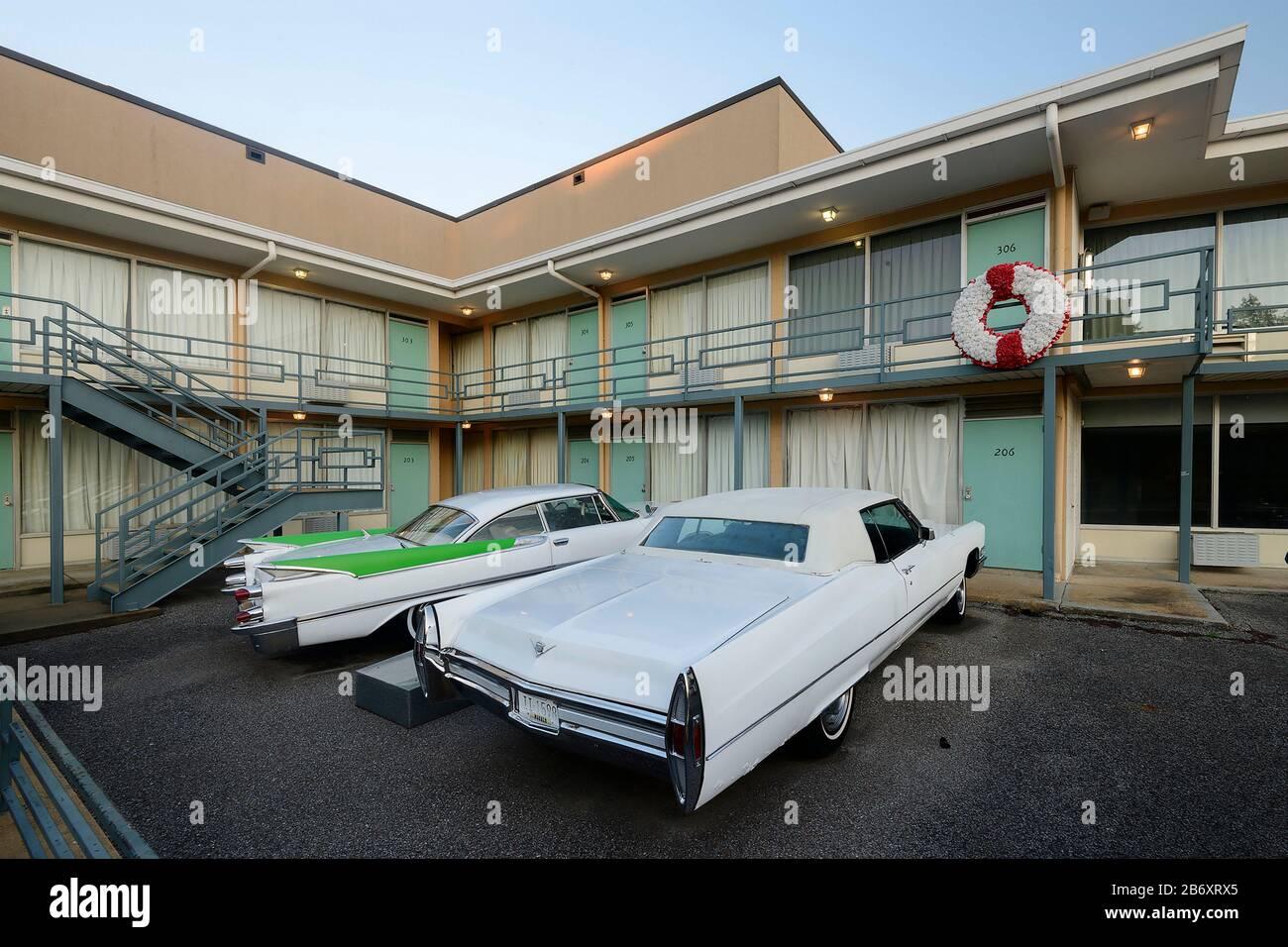États-Unis, Deep South, Tennessee, Memphis, National Civil Rights Museum, Lorraine Motel Banque D'Images