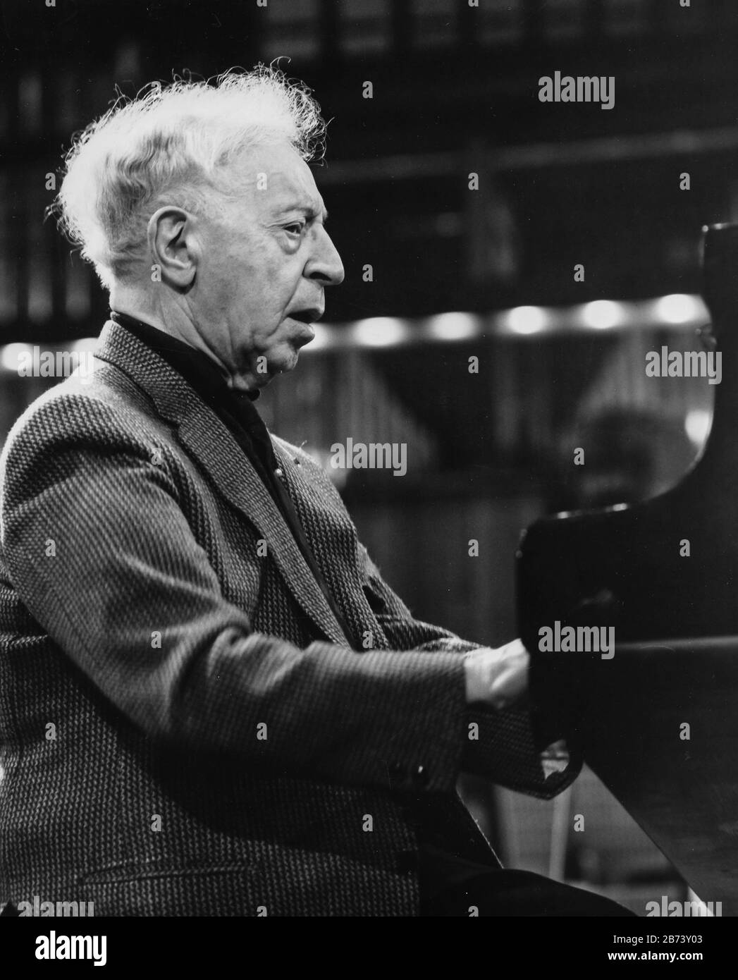 Arthur Rubinstein Banque D'Images