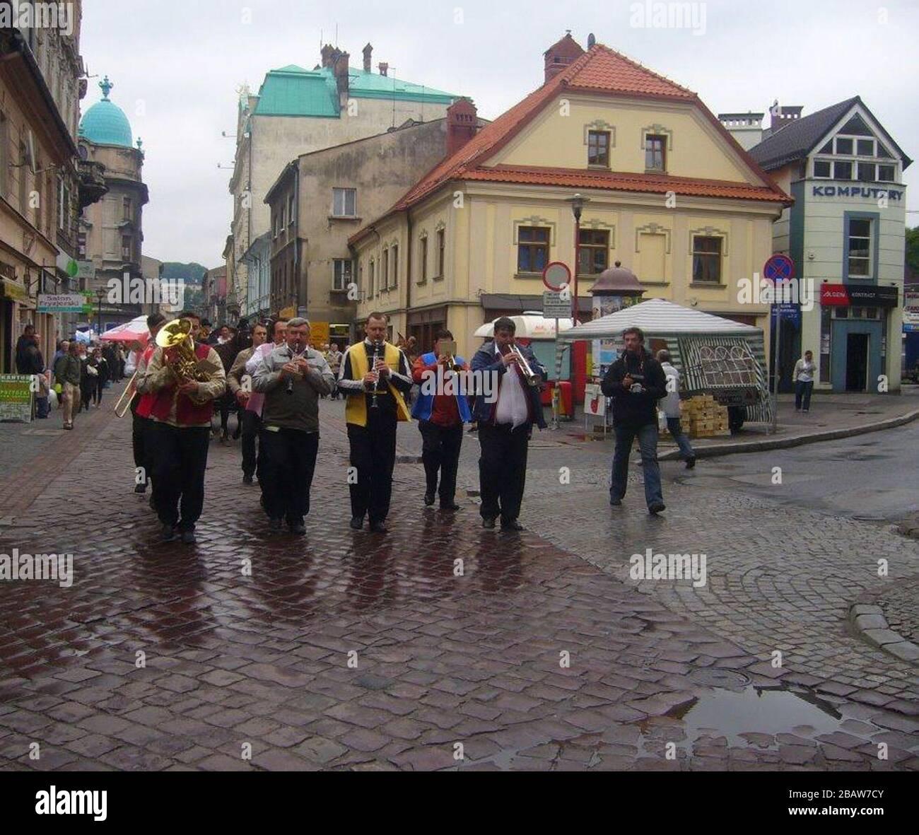 'Polski: Orkiestra W paradzie na otwarcie Święta Ulicy 11 Listopada 2010.; 25 juin 2010; Fotopolska.eu; Gaj777; ' Banque D'Images