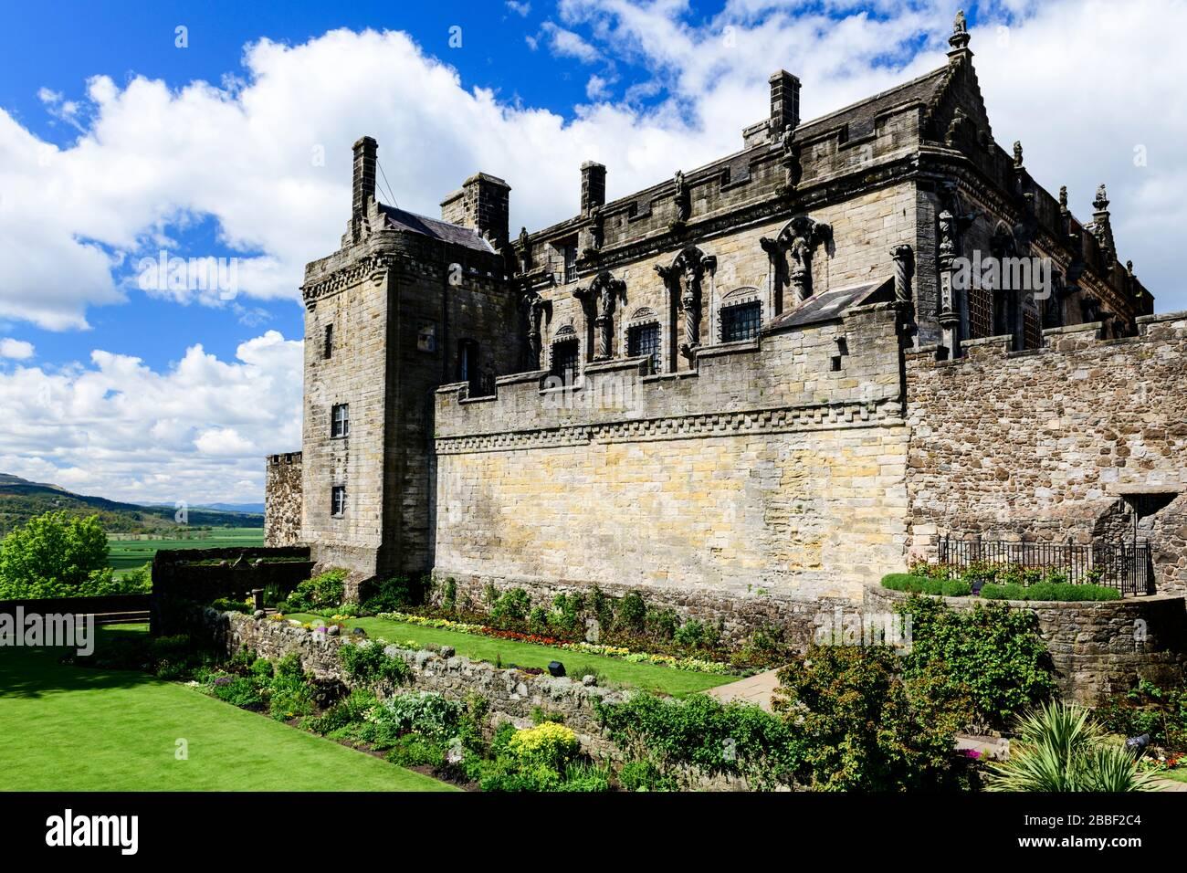 Château de Stirling à Stirling, Écosse Banque D'Images
