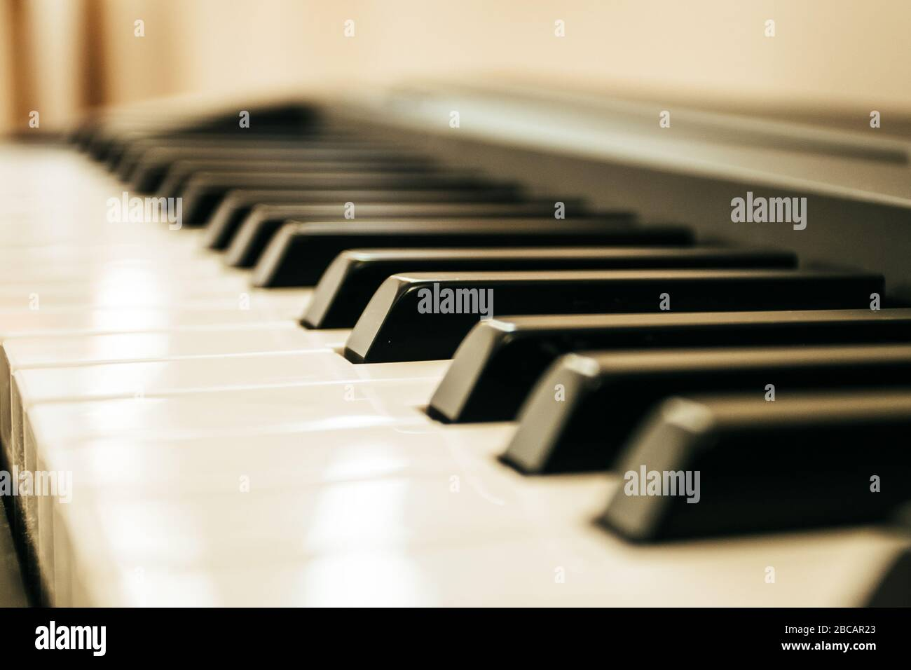 Clavier piano musical INS.clavier piano Banque D'Images